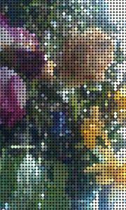 Pixelated Flowers